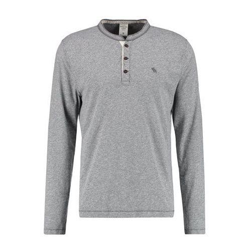 Abercrombie & Fitch MUSCLE FIT Bluzka z długim rękawem grey