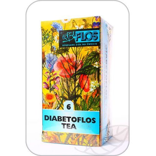Herbaflos: Nr 6 Diabetoflos Tea FIX - 20 szt. (5902020822066)