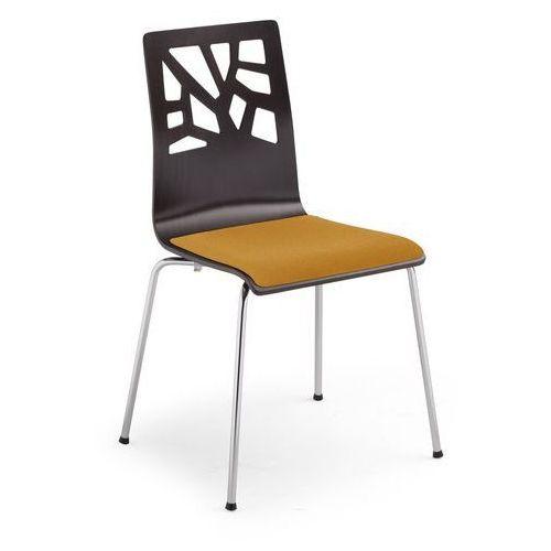 Nowy styl Krzesło verbena alu/black seat plus