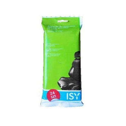 Chusteczki do czyszczenia tapicerki skórzanej ISY ICL-6225 (4049011143029)