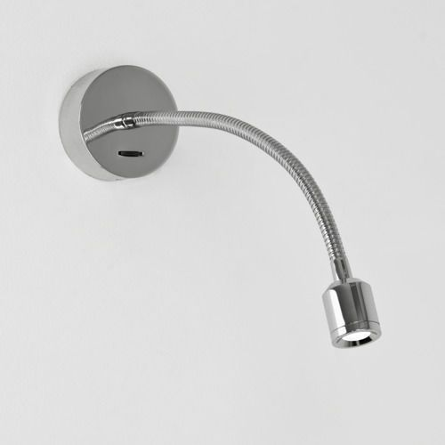 Fosso LED switched reading light Chrome, 0659