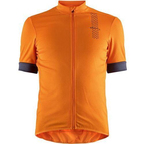 Craft koszulka rowerowa męska rise, pomarańczowy m