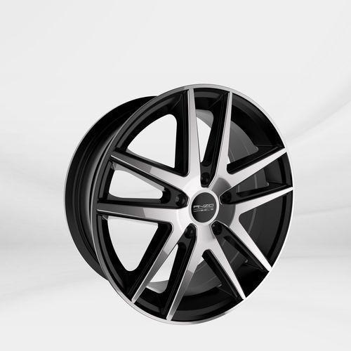 """Anzio Felgi aluminiowe 18"""" 5x108 split czarny polerowany (4046004089654)"""