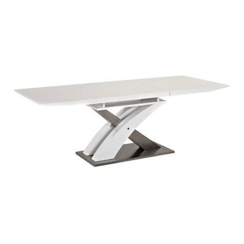 """Signal Stół raul 140(180)x85 biały rozkładany ★ wyróżniają nas """"zaufane opinie"""" i 95% zadowolonych klientów (5901477244858)"""