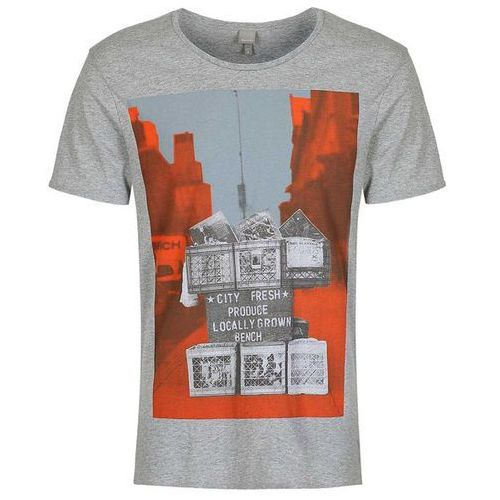 koszulka BENCH - City Produce Mid Grey Marl (GY001X) rozmiar: S