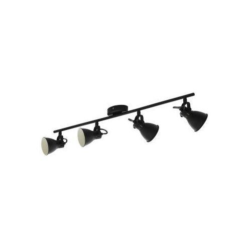 Eglo Seras 2 98408 oprawa sufitowa listwa spot 4x3,3W GU10-LED czarny, kolor Czarny
