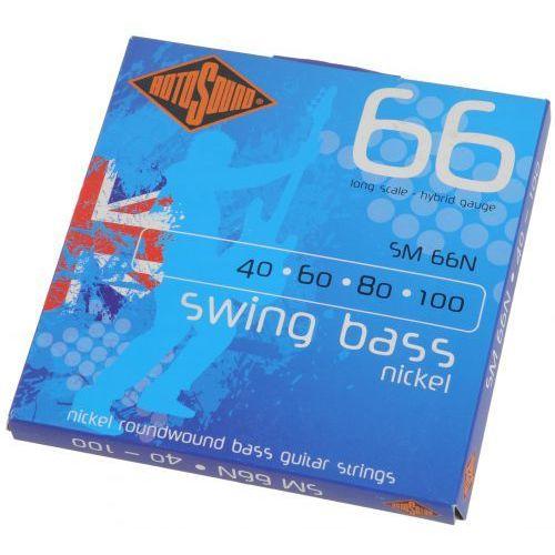 Rotosound sm 66n swing bass struny do gitary basowej 40-100