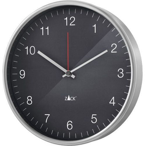 Zegar ścienny Palla Zack 30cm, szary (60024) (4034398600241)