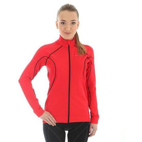 ls11050 - damska bluza wiatroszczelna (czerwony) marki Brubeck