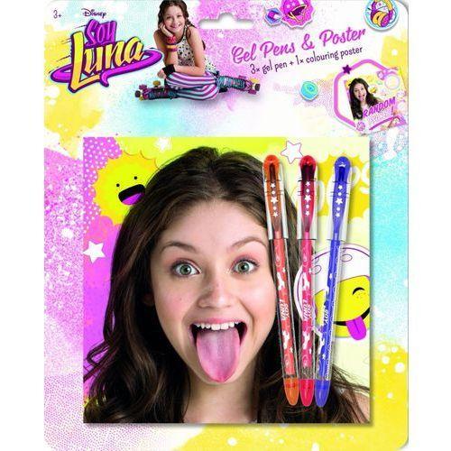 Jiri Models Soy Luna 3 żelowe długopisy+ plakat (GXP-556754) Darmowy odbiór w 20 miastach! (8595593811659)