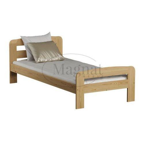 Łóżko sosnowe klaudia 90x200 marki Magnat - producent mebli drewnianych i materacy