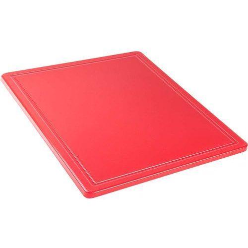 Deska do krojenia GN 1/2 czerwona STALGAST 341321