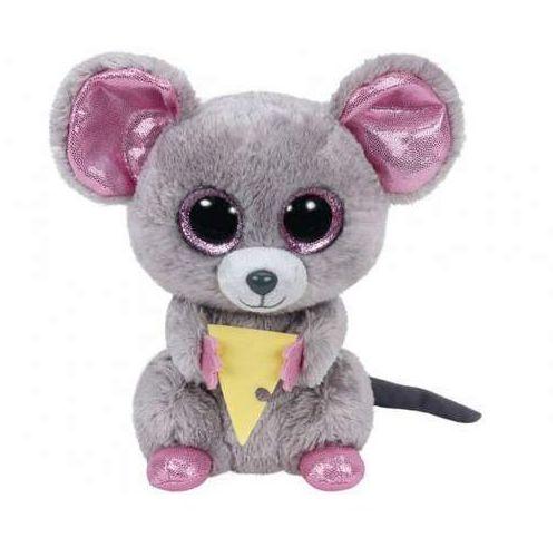Ty beanie boos squeaker - mysz z serem (0008421361922)