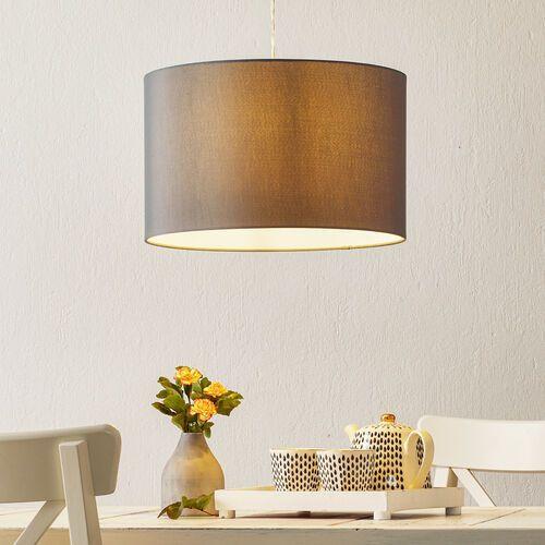 Klasycznie nowoczesna lampa wisząca Clarie szara