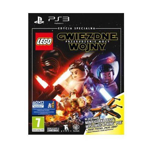 Cenega Gra ps3 lego gwiezdne wojny: przebudzenie mocy + minifigurka lego: myśliwiec x-wing poe
