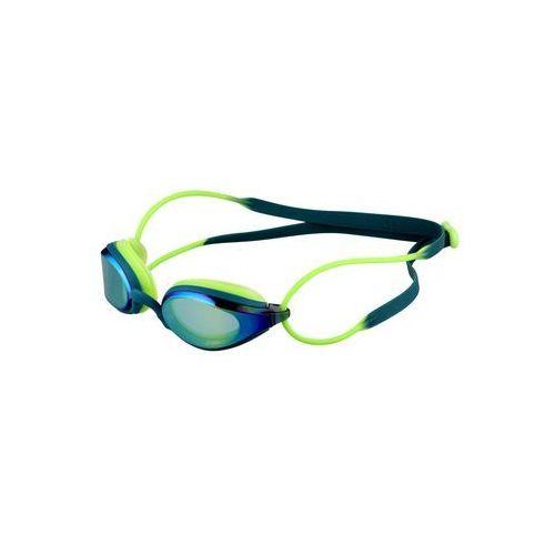 Zoggs FUSION AIR MIRROR Okulary pływackie gold/deep green/lime - sprawdź w wybranym sklepie