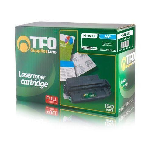 Toner tfo h-49xc (q5949x) 6.0k z chipem czarny do hp laserjet 1320, 1320n, 1320nw marki Telforceone