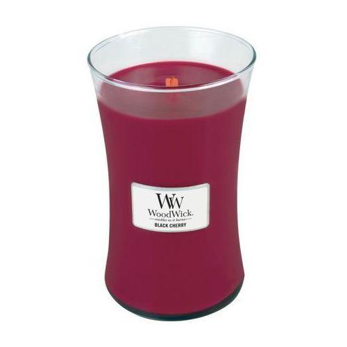 - świeca duża black cherry 175h marki Woodwick