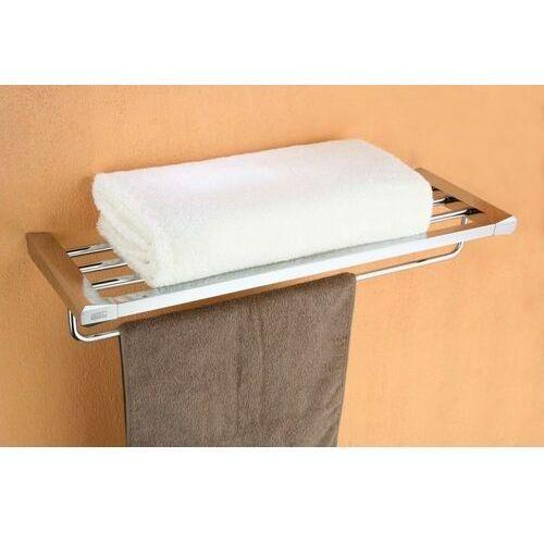 Półka ART PLATINO ROK-87012 na ręczniki z relingiem (5901730614848)