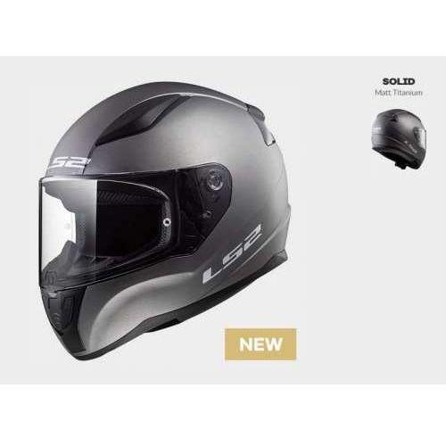 Kask motocyklowy kask ff353 rapid matt titanium, model 2018! marki Ls2