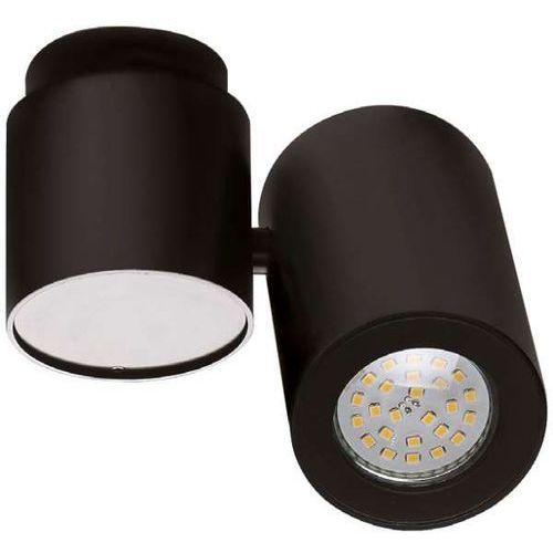 Maxlight Lampa sufitowa barro c0035 metalowa oprawa regulowany spot tuba czarna (1000000356892)