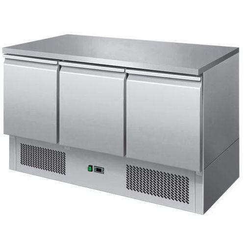 Stół chłodniczy 3-drzwiowy z agregatem na dole sch-3 marki Redfox