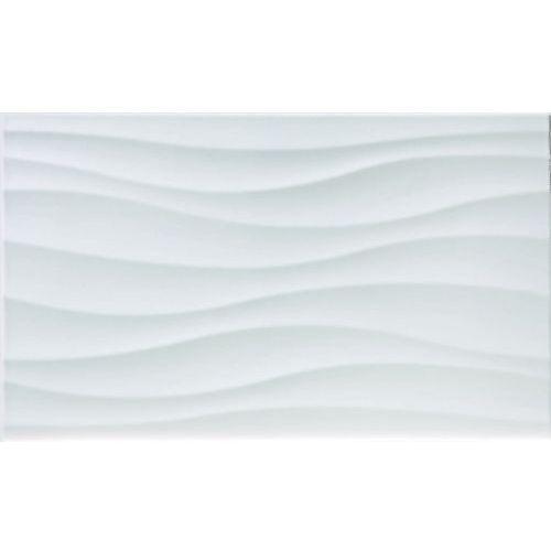Lavita Płytka fala egeo blanco gat.1 33,3x55