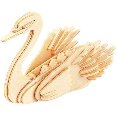 Łamigłówka drewniana gepetto - łabędź (swan) marki Eureka