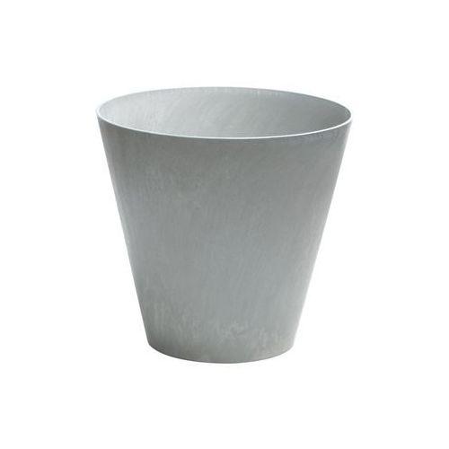 Doniczka Tubus Beton Prosperplast : Średnica - 400 mm, Kolor - Beton (5905197896649)