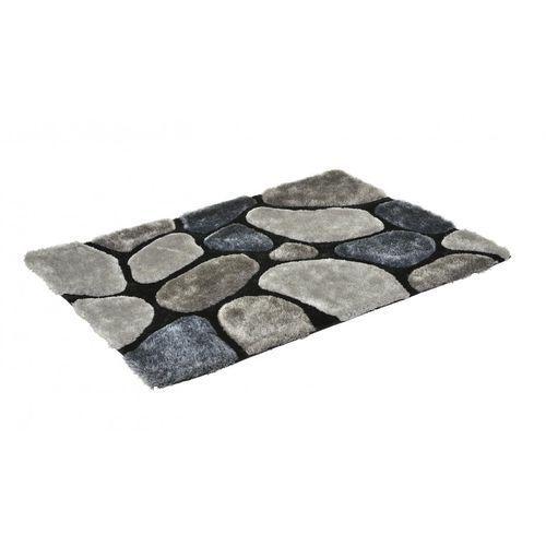 Dywan shaggy pietra szary - poliester - 160 * 230 cm marki Vente-unique