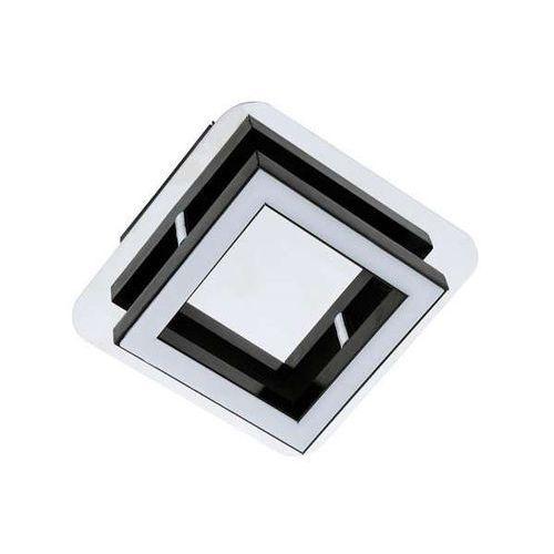Plafon LAMPA sufitowa LIKYA LED-1 03134 Ideus metalowa OPRAWA LED 5W ścienny KINKIET kwadratowy chrom wenge
