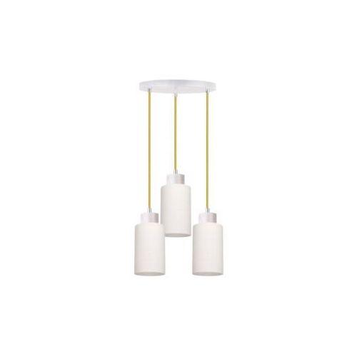 SPOT-LIGHT BOSCO Lampa wisząca Dąb bielony/Oliwkowy 3XE27-60W 1712532, kolor dąb