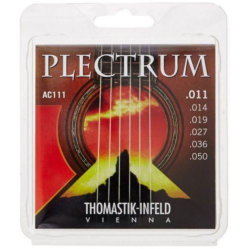 Thomastik (669327) struny do gitary akustycznej Plectrum Acoustic Series - AC 111 - Light.011-.050