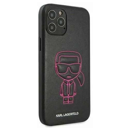"""Karl lagerfeld klhcp12lpcuikpi iphone 12 pro max 6,7"""" różowy/pink hardcase karl ikonik outline (3700740489321)"""