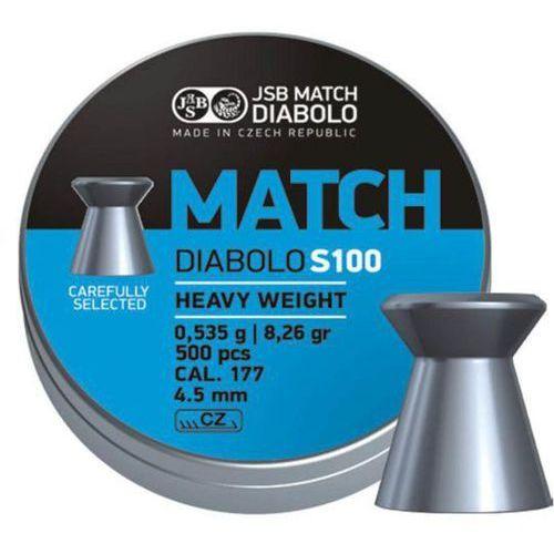Śrut JSB Blue Match Diabolo S100 4.5mm 500szt (000025-500) z kategorii Amunicja do wiatrówek