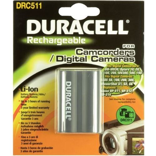 Duracell  akumulator do aparatu/kamery 7.4v 1400mah drc511 darmowa dostawa do 400 salonów !! (5055190103128)