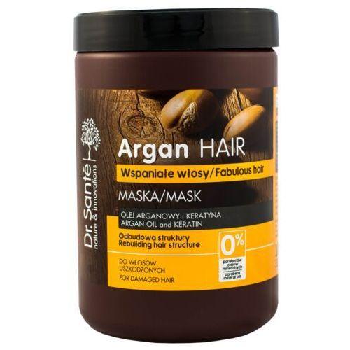 Dr.Sante Argan Hair Maska odbudowująca do włosów uszkodzonych 1000ml - Elfa Pharm OD 24,99zł DARMOWA DOSTAWA KIOSK RUCHU (8588006035124)