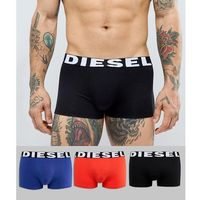 Diesel Shawn 3 pack trunks in red black and blue - Multi