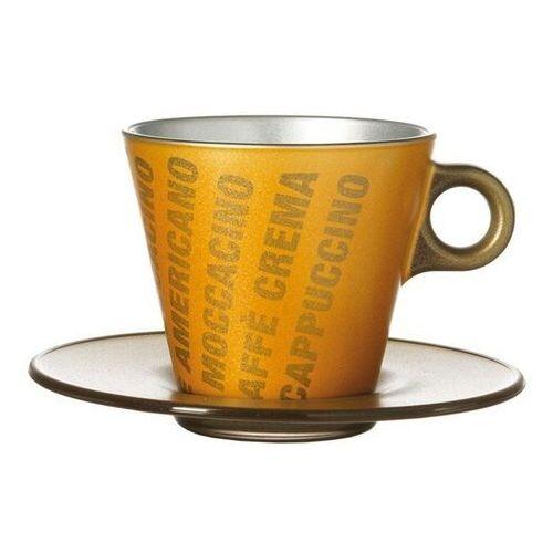 Leonardo Filiżanka do cappuccino ooh magico złoty metalik (063889)
