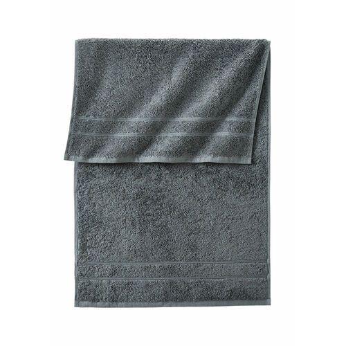 Ręczniki z ciężkiego materiału antracytowy marki Bonprix