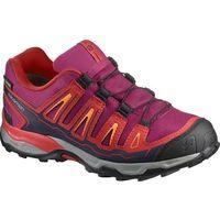 buty dziecięce x-ultra gtx j sangria/poppy red/brigh 34 marki Salomon