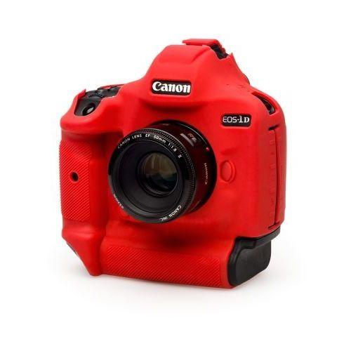 EasyCover osłona gumowa dla Canon 1Dx Mark II czerwona