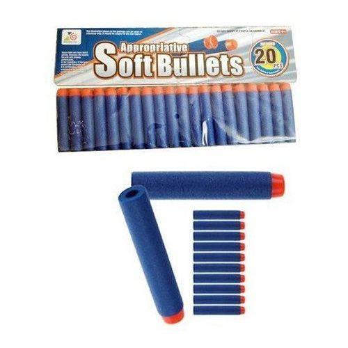 Strzałki z przyssawką 20 szt