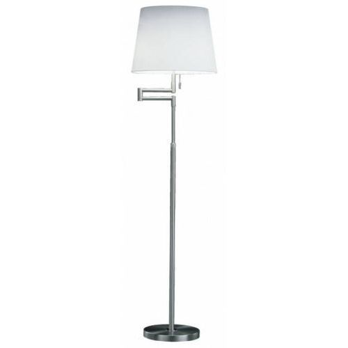 lampa podłogowa nikiel matowy, 4-punktowe - klasyczny - obszar wewnętrzny - knapstein - czas dostawy: od 2-3 tygodni marki Knapstein