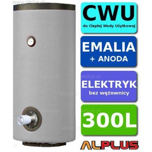 Elektryczny bojler 300L z 1 grzałką 3kW lub inną do wyboru, EMALIOWANY, Ogrzewacz wody elektryczny pionowy stojący, 300 litrów, 152cm x 65cm, Wysyłka gratis, L15.300EL
