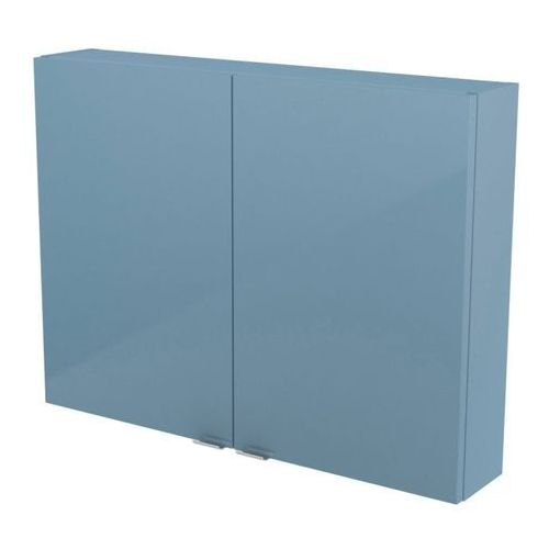 Szafka GoodHome Imandra 80 x 60 x 15 cm niebieska (3663602933700)
