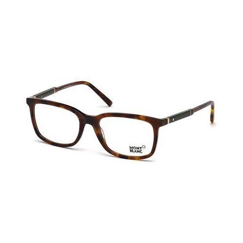 Okulary korekcyjne  mb0638 056 marki Mont blanc