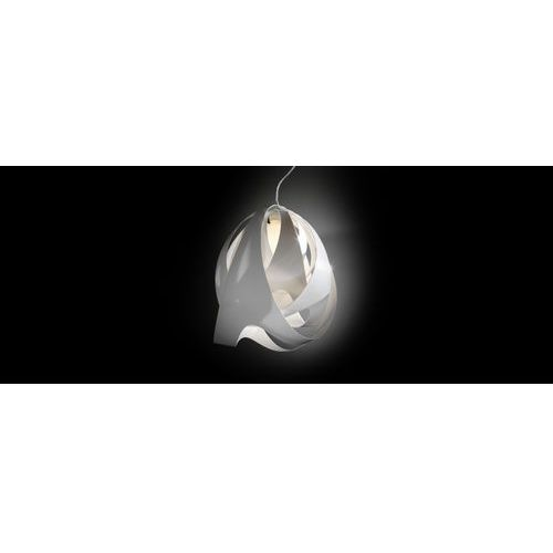 Nowoczesna lampa wisząca GOCCIA DI LUCE, biała