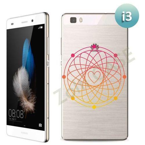 Etui dla Huawei P8 Lite - Serduszko - i3