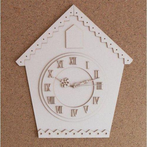 Stary zegar - baza do zdobienia - 21x25 cm